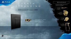 【PS4】DEATH STRANDING スペシャルエディション【早期購入特典】アバター(ねんどろいどルーデンス)/PlayStation4ダイナミックテーマ/ゲーム内アイテム(封入) PCJS-66055