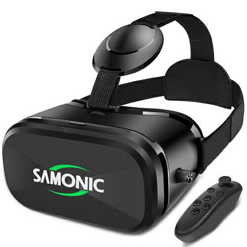 スマートフォン・携帯電話アクセサリー, VRゴーグル SAMONIC 3D VR 4.06.5iPhone AndroidBluetooth