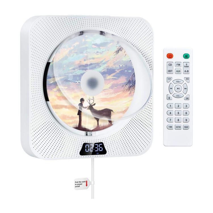 ポータブルオーディオプレーヤー, ポータブルCDプレーヤー Gueray CD 1 2021 CDFMUSBAUXTF ONOFF LED PSE