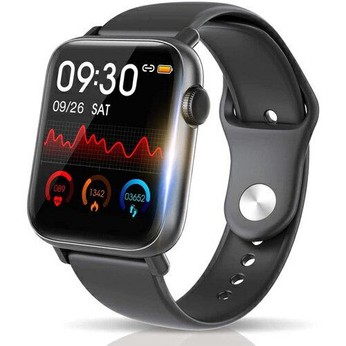 スマートフォン・タブレット, スマートウォッチ本体 Bluetooth5.0 IP68 1.54 smart watch SMSTwitterLine 24 GPS