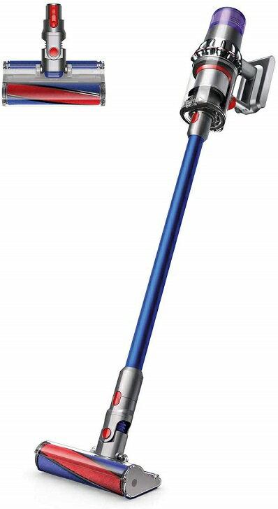 ダイソン掃除機コードレスDysonV11FluffySV14FFニッケル/アイアン/ブルー