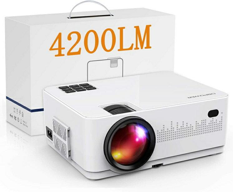 TV・オーディオ・カメラ, ホームプロジェクター 4200lmDBPOWER 4200lm 1080PHD LED 19201080 170 PS3PS4DVD HDMIAV