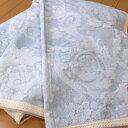 日本製 シルクジャガード毛布 シルク毛布