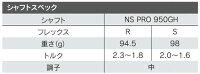 【特注】ブリヂストンJ15DPFアイアン単品(#3,#4)NSPRO950GHシャフト[BRIDGESTONE]【■B■】_F12