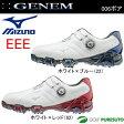 【即納!】ミズノ ジェネム006 ボア ゴルフシューズ メンズ 51GM1600** 【EEE】[Mizuno GENEM 3E boa 靴]【あす楽対応】