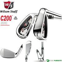 ウィルソンC200アイアン6本セット(#5~PW)カーボンシャフト[Wilsonstaff]【■Kas■】