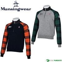 【即納!】マンシングウェアハーフジップセーターRM4225[Munsingwear2016年秋冬ウェア]