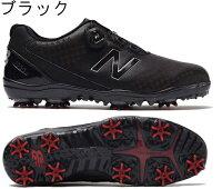 【即納!】【日本仕様】ニューバランススパイクボアゴルフシューズMG1000ウィズ:D[NewBalanceGolf靴Boa]【対応】