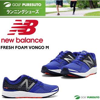 新平衡跑步鞋新鮮泡沫 VONGO M MVNGOBYD 藍色 [步行鞋慢跑鞋的新平衡]