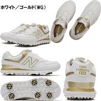 【即納!】【レディース】【日本仕様】ニューバランスゴルフシューズWGB574[NewBalanceGolf靴Boaボア女性用]