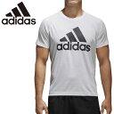 【★最大2000円OFFクーポン★】アディダス adidas D2M トレーニング ビッグロゴ Tシャツ 半袖 メンズ BVA79 シンプル ホワイト 白 部活 部屋着 ジム