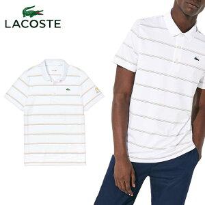 \★先着クーポン配布中★/ラコステ LACOSTE PRESIDENTS CUP トリプルカラーピンボーダーポロ DH0436L 半袖 ポロシャツ メンズ