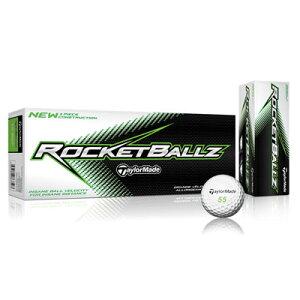 【円高還元】テーラーメイドROCKETBALLZゴルフボール1ダース【US仕様】[Taylormade ロケットボ...