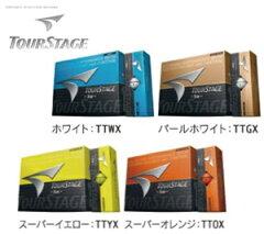 ブリヂストン BRIDGESTONE ツアーステージ ゴルフボール S100 日本仕様 1ダース 即納_F25