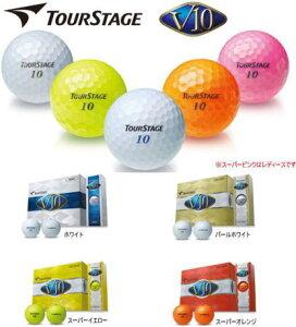 【2012年モデル!】ブリヂストン ツアーステージ V10 ゴルフボール ★2012年モデル★ 1ダ...