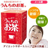 うんちのお茶ダイエットサポートハーブで毎日を快適に♪レビューを書いてメール便送料無料