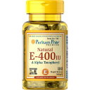 ビタミン サプリ ビタミン サプリメント ビタミン 亜鉛 サプリ 健康食品 健康 生活ピューリタンズプライド(Puritan's Pride) 天然型ビタミンE-400IU ソフトジェル健康 サプリメント 健康 ビタミン サプリメント 健康サプリ