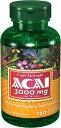 ピューリタンズプライドピューリタンズプライドトリプルストレングス・アサイー(ACAI) 3000 mg.抗酸化物質、コレステロール値、抗癌効果、脳機能を高める。 健康、ビタミン、ミネラル。 サプリメント