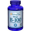 ピューリタンズプライド Puritan's Pride 複合ビタミンB100 (複合ウルトラB) 美容 元気アップ 神経系、脳、筋肉、心臓、胃、腸、電解質、筋肉、神経細胞。 健康、ビタミン、ライフスタイル、サプリメント