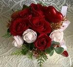 プリザーブドフラワーバレンタイン赤いバラりぼんチョコレートホワイトデーギフトバースデーお祝いハートお別れお礼プレゼント送料無料