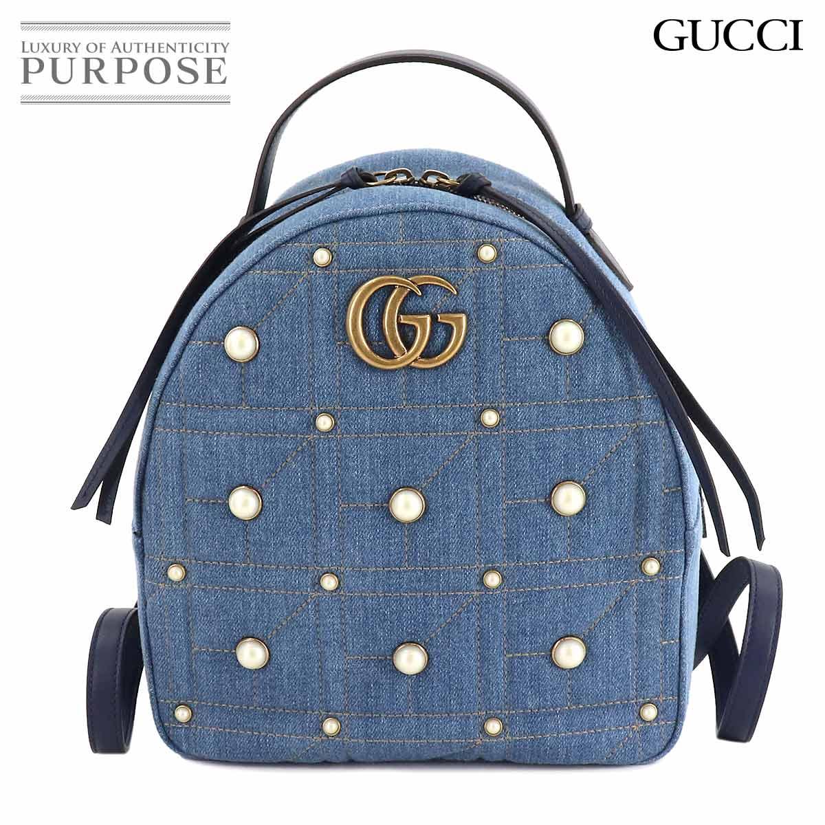 レディースバッグ, バックパック・リュック  GUCCI GG 476671 001998 GG Marmont Backpack