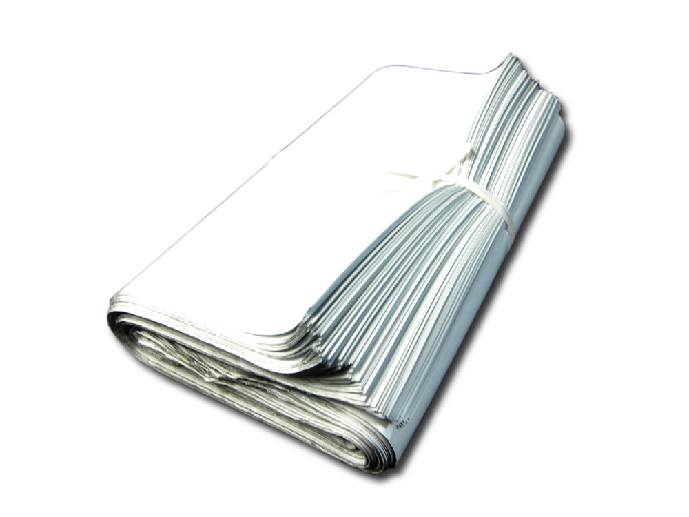 宅配ビニール袋(宅配ポリ袋)>宅配ビニール袋(宅配ポリ袋)2LD 色 白>巾420×高450+フタ50mm 色 白