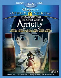 借りぐらしのアリエッティ  ≪北米版≫ (2枚組Blu-ray/DVDコンボ) (オリジナル日本語・英語) 並行輸入