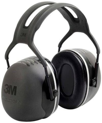 3М(スリーエム)防音 イヤーマフ Peltor ペルター X5A 防音規格最高値の防音性能(NRR 31dB)並行輸入品