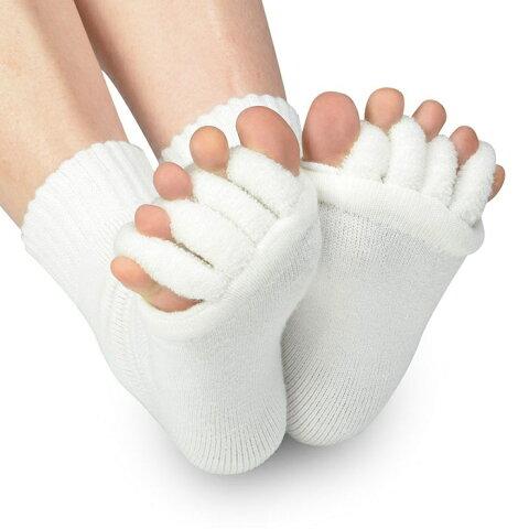 靴下 スリーピングソックス 足指開き5本指ハーフソックス 血行不良からくる足のむくみを即解消 足指開き 足指全開 男女兼用 履くだけで癒される 偏平足 対策 むくみ解消 並行輸入