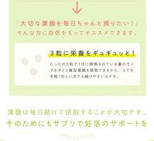 【単品】女子のおまもりサプリママのためのモノグルタミン酸型葉酸