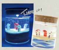 [ジョイキャンドル]ホルダーグラスLLEDライト付きのきれいなグラス(手作りキャンドル・ジェルキャンドル)
