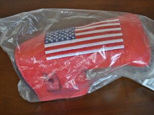 【即納】【あす楽対応】★スコッティーキャメロン ヘッドカバー 2002年モデル SCOTTY CAMERON 2002年モデル AMERICAN BIG FLAG HEADCOVER RED
