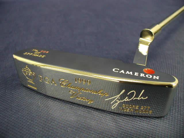 【即納】【あす楽対応】★スコッティキャメロン タイガーウッズ 1999全米プロ ステンレス SCOTTY CAMERON 1999 PGA CHAMPIONSHIP VICTORY TIGER WOODS STAINLESS
