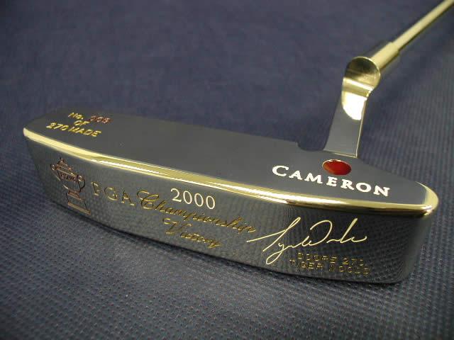 【即納】【あす楽対応】★スコッティキャメロン タイガーウッズ 2020全米プロ ステンレス SCOTTY CAMERON 2000 PGA CHAMPIONSHIP VICTORY TIGER WOODS STAINLESS