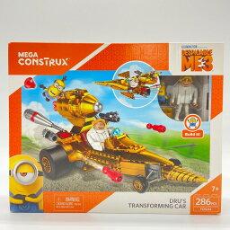 【送料無料!希少品】メガブロック メガコンストラックス ミニオンズ ドルーの変形マシン Mega Construx Despicable Me Dru's Transforming Car ブロック 知育玩具 組み立て 男の子 女の子 おもちゃ