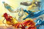 ジグソーパズル 1000ピース 開運画 ナブランジャ 四龍天昇 (50x75cm)(11-486) エポック社 梱80cm t101
