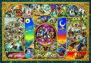 ディズニー オールキャラクター 108ピース ジグソーパズル ディズニーキャラクターワールド ホログラムジグソー(18.2x25.7cm)(D-108-876)[テンヨー] t104