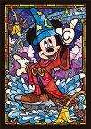 ジグソーパズル 266ピース ディズニー ミッキーマウス ステンドグラス ステンドアート ぎゅっとシリーズ(18.2x25.7cm)(DSG-266-747) テンヨー 梱60cm t105