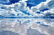 風景 1500ピース ジグソーパズル パズルの達人 世界の絶景 ウユニ塩湖-ボリビア スモールピース(50x75cm)(15-550)[エポック社] t104