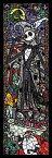 【あす楽】ディズニー ナイトメア ビフォア クリスマス 456ピース ジグソーパズル ステンドアート ナイトメアー・ビフォア・クリスマス ぎゅっとシリーズ(18.5x55.5cm)(DSG-456-723)[テンヨー] 【梱60cm】t105