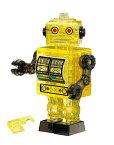 【あす楽】ジグソーパズル 39ピース クリスタルパズル ブリキ ロボット・イエロー(50201) ビバリー 梱60cm t103