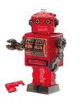 【あす楽】ジグソーパズル 39ピース クリスタルパズル ブリキ ロボット・レッド(50202) ビバリー 梱60cm t103