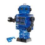 ジグソーパズル 39ピース クリスタルパズル ブリキ ロボット・ブルー(50203) ビバリー 梱60cm t103