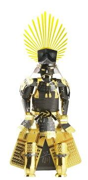 【あす楽】立体パズル メタリックナノパズル マルチカラー 鎧 豊臣秀吉 (T-ME-002M)[テンヨー] t107