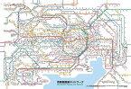 【在庫あり】ジグソーパズル 150ピース 首都圏路線ネットワーク ラージピース(26x38cm) (L74-154) ビバリー 梱60cm t101