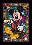 ジグソーパズル 266ピース ディズニー ミッキー&フレンズ ぎゅっとシリーズ ステンドアート (18.2x25.7cm)(DSG-266-955) テンヨー 梱60cm t101