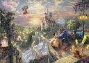 【在庫あり】ジグソーパズル 2000ピース ディズニー 美女と野獣 トーマス・キンケード Beauty and the Beast Falling in Love(73x102cm)(D-2000-624) テンヨー 梱100cm t102