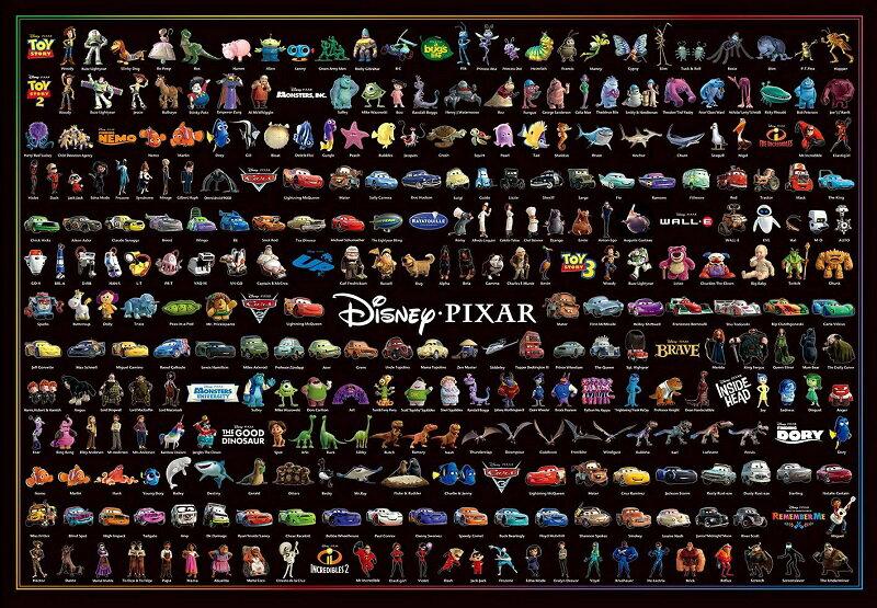 【在庫あり】ジグソーパズル 1000ピース ディズニー/ピクサー キャラクターコレクション(51x73.5cm) (D-1000-036) テンヨー 梱80cm t101画像