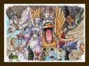 【在庫あり】ジグソーパズル 150ピース ワンピース 砂漠の王国アラバスタ まめパズル フレームセット(7.6×10.2cm)(MA-24) エンスカイ 梱60cm t100