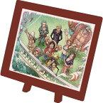 【在庫あり】ジグソーパズル 150ピース ワンピース 魚人島へ出発!! まめパズル フレームセット(7.6×10.2cm)(MA-29) エンスカイ 梱60cm t101